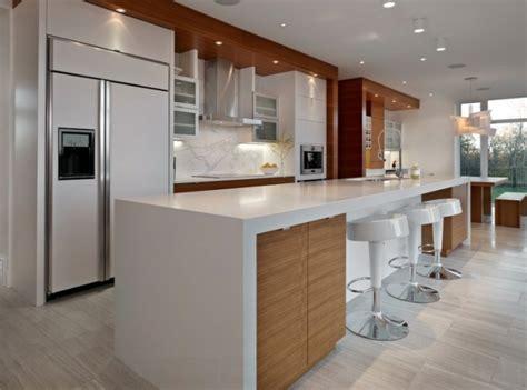 cuisine comptoir bois comptoir de bois pour cuisine porte plante et