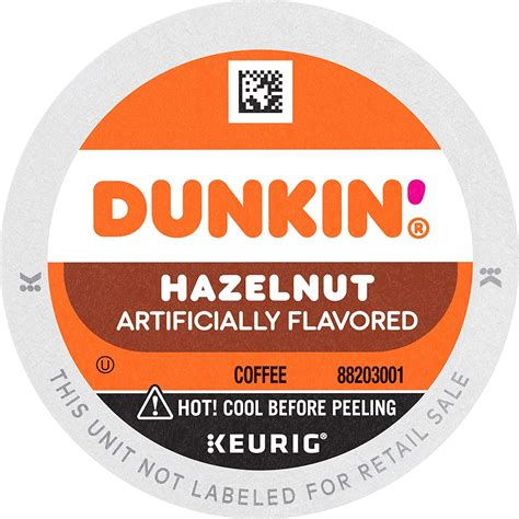 • the rich, smooth taste of dunkin'® original blend, with the flavor and aroma of sweet roasted hazelnuts. Dunkin' Donuts Coffee for K-Cup Pods, Hazelnut, 60 Count: Amazon.ca: Grocery
