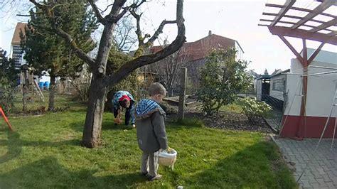 Ostereier Suchen Im Garten Youtube