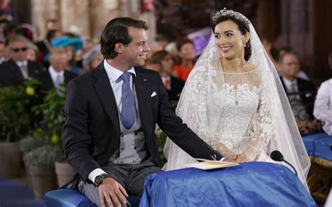 royal couple exchanged smile  wedding ceremony