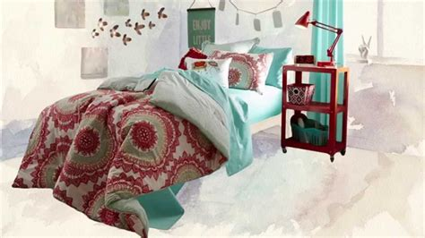 anthology bungalow reversible comforter set in coral youtube