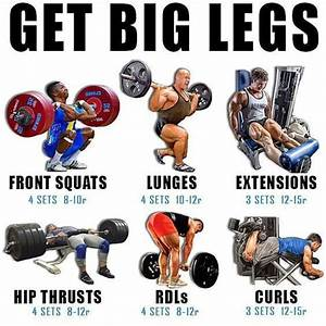 Gain Size And Strength For Monster Legs In 4 Weeks