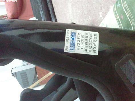 si鑒es baquets baquets sparco evo l venta de equipación interna vehículo