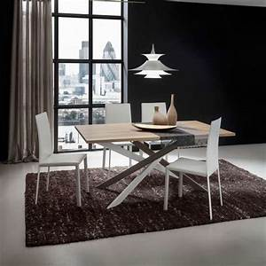 table de salle a manger design en stratifie renzo 4 With table design salle a manger