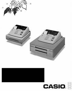 Casio Cash Register Te