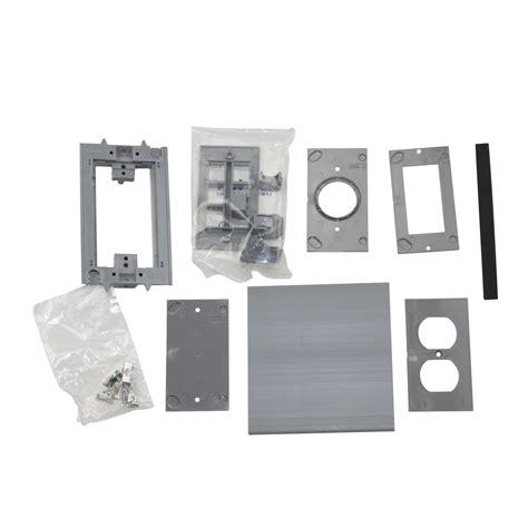 carlon floor box blank betts e976ak2 floor box activation cover kit 2