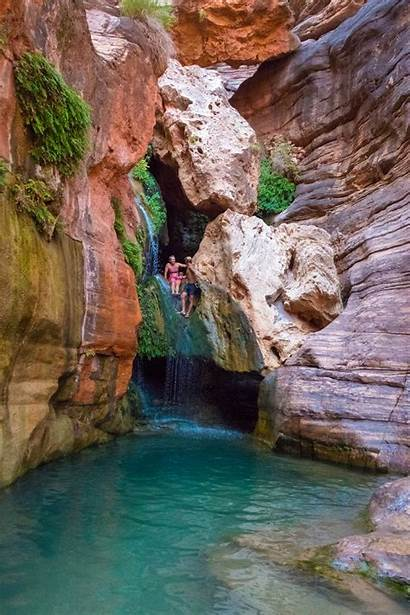 Canyon Grand Colorado Rafting River Through Chasm