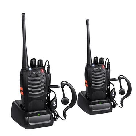 proster 2pcs walkie talkie 224 longue port 233 e interphone bidirectionnel 1 paire talkie walkie