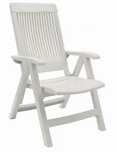 Fauteuil De Jardin Pliant : fauteuil de jardin fidji avec dossier r glable grosfillex ~ Dailycaller-alerts.com Idées de Décoration