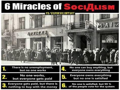 Socialist Memes - brilliant meme explains six amazing quot miracles quot of socialism