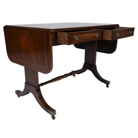 drop leaf sofa table antique english mahogany drop leaf sofa table for sale at
