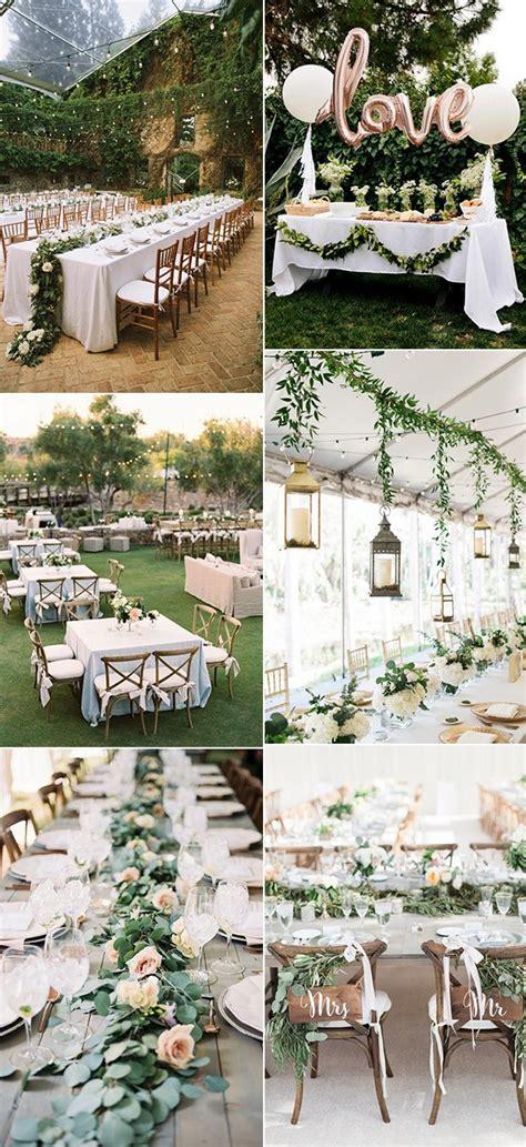 Garden Reception Decoration Ideas by 25 Brilliant Garden Wedding Decoration Ideas For 2018