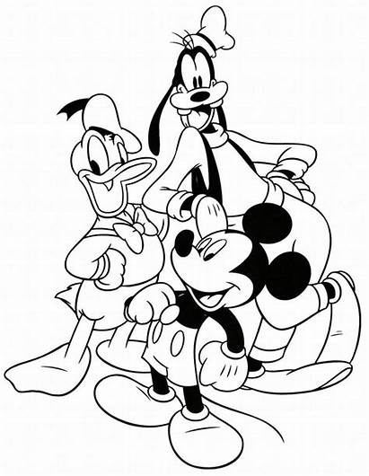 Disney Coloring Characters Pages