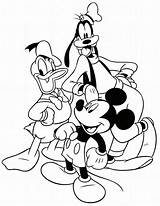 Disney Coloring Pages Characters sketch template