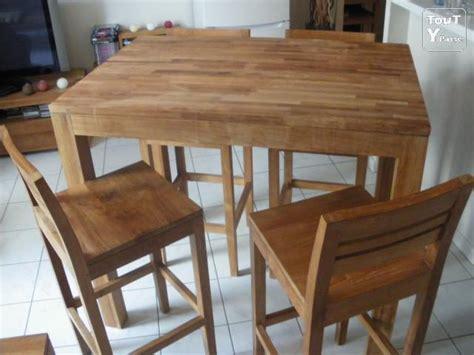 tables de cuisine alinea table et chaises teck massif naturel alinea montigny lès