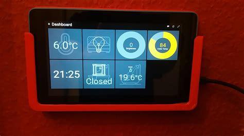 wall tablet openhab mounted power habpanel supply setup community solve guys