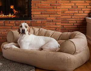 Big dog sofa bed couch extra large pet orthopedic foam for X large dog sofa bed