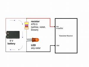 Led  U202a  U200ecircuit U202c For 9 Volt  U202a  U200etransmitter U202c  U202a  U200eengineeringstudents U202c  With Images