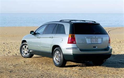 2004 Chrysler Pacifica Gas Tank Size Specs View