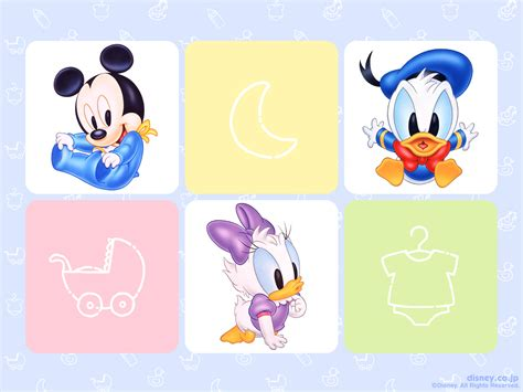 迪斯尼动画壁纸系列之可爱baby 1024*768
