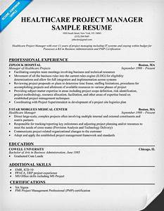 healthcare project manager resume example http With healthcare executive resume