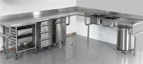 plan de travail cuisine professionnelle matériel inox pour votre cuisine professionnelle