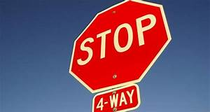 Stop, Signs