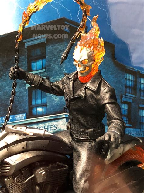 toy fair  mezco  collective ghost rider