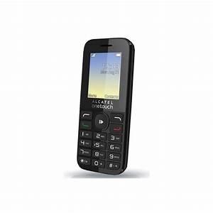 Celular Alcatel 1050a Negro Threadx V5 0 0 8 Megapixeles