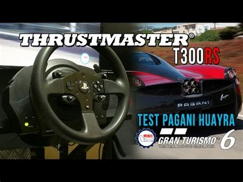 volante ps3 gt6 quot new thrustmaster t300 rs ps3 ps4 pc test gt6