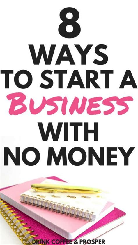 If you're looking for with how many business ideas already exist out in the world, it can be difficult to come up with 8. 8 Ways to Start a Business with No Money | Starting a ...