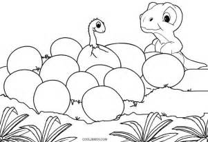 Baby Dinosaur Coloring Pages Printable