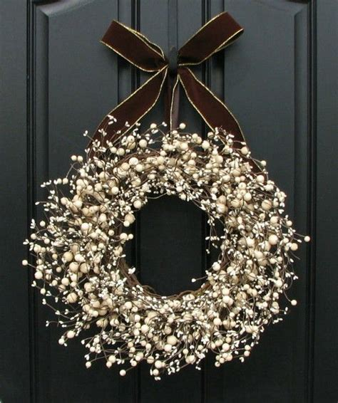 white berry wreath love this my inspiration pinterest