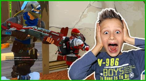 son dad fortnite duos action youtube