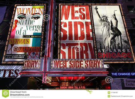 Billboard Broadway Stage broadway show advertisements editorial image image 1300 x 957 · jpeg