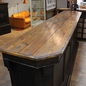 Mobilier Industriel Ancien : mobilier industriel ancien comptoir de caf ~ Teatrodelosmanantiales.com Idées de Décoration