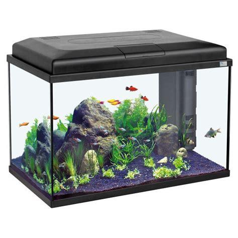 prix d un aquarium aquarium aquatlantis start 55 noir