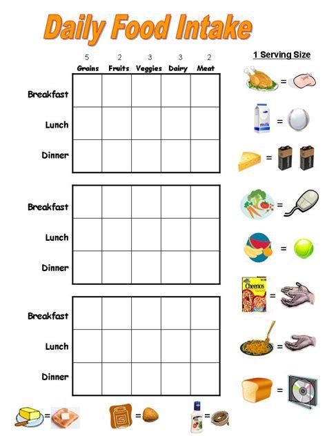 food charts fbc 135 | weekly food chart