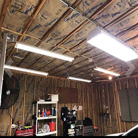 hykolity ft  led shop garage hanging light fixture