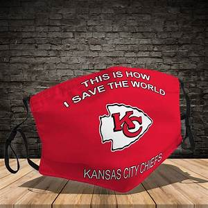 Kansas City Chiefs This Is How I Save The World Face Mask