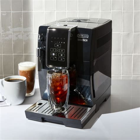 This fully automatic steam cleaning process operates after every drink, allowing you to simply sit back and enjoy a great cup of coffee. De'Longhi Dinamica Fully Automatic Coffee and Espresso Machine + Reviews | Crate and Barrel