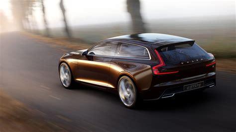 volvo concept estate  spawn  luxury wagon report