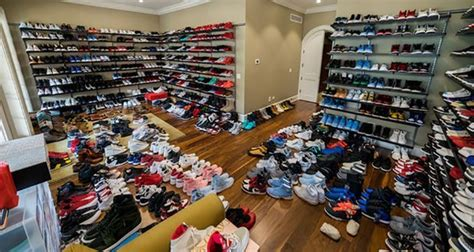 jimmy butler   crazy sneaker room   chicago home