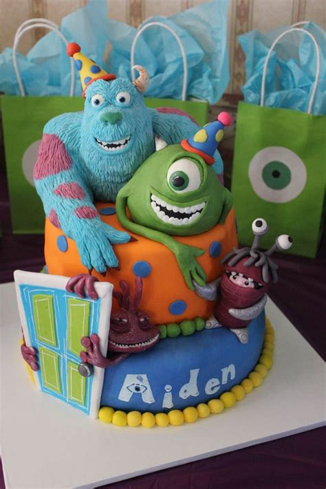 monsters inc cake splendid monsters inc cake between the pages