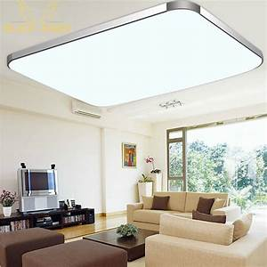 Surface mounted modern led ceiling lights for living