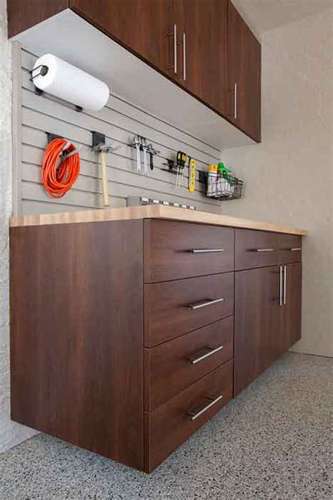 garage workbenches countertops tool organization