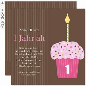 Baby Mit 1 Jahr : einladungskarte geburtstag einladungskarte geburtstag 40 einladungskarten einladungskarten ~ Markanthonyermac.com Haus und Dekorationen
