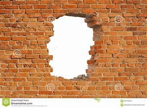 Loch In Wand Bohren : white hole in old wall brick frame royalty free stock photo 27018837 ~ Orissabook.com Haus und Dekorationen
