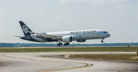 Air New Zealand's New-look Dreamliner Touches Down