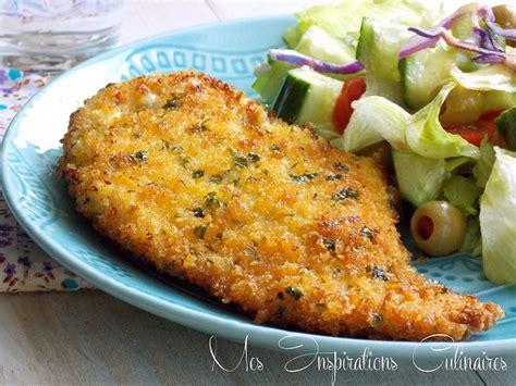 blogs cuisine facile recette escalope milanaise facile le cuisine de samar